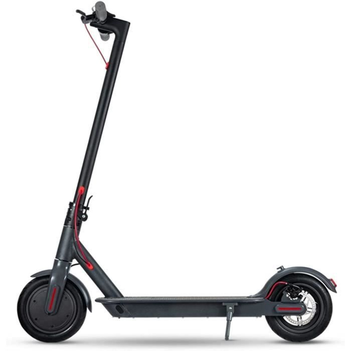 KHUY Trotinette Electrique Adulte, Scooter Electrique Adulte 25km-h, 350w Mini Scooter Electrique à Longue Port&eacutee41