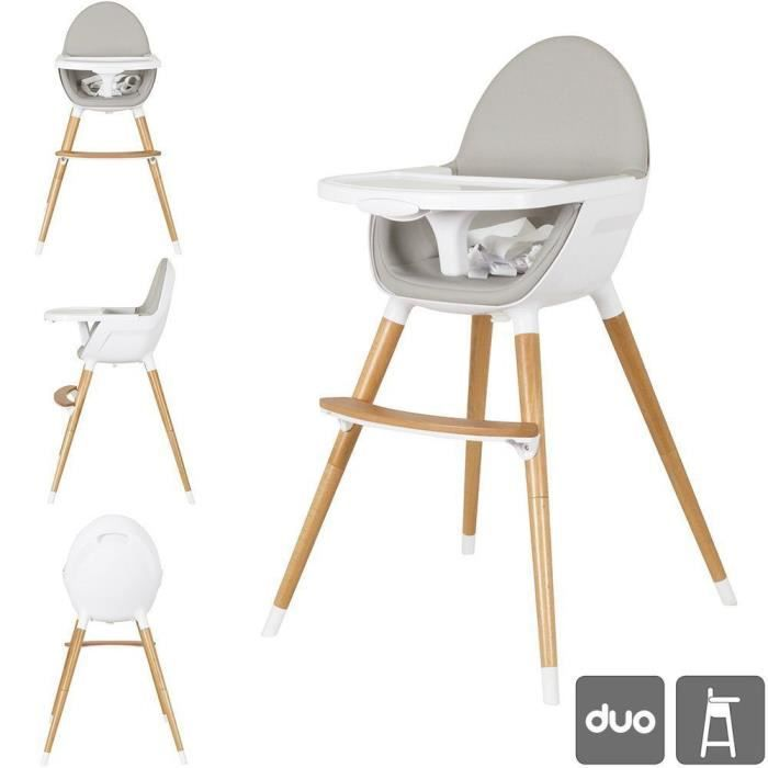 Star Ibaby Duo Chaise haute pour bébé. Convertible en Chaise . Plateau amovible . Mousse siège ultra confortable.