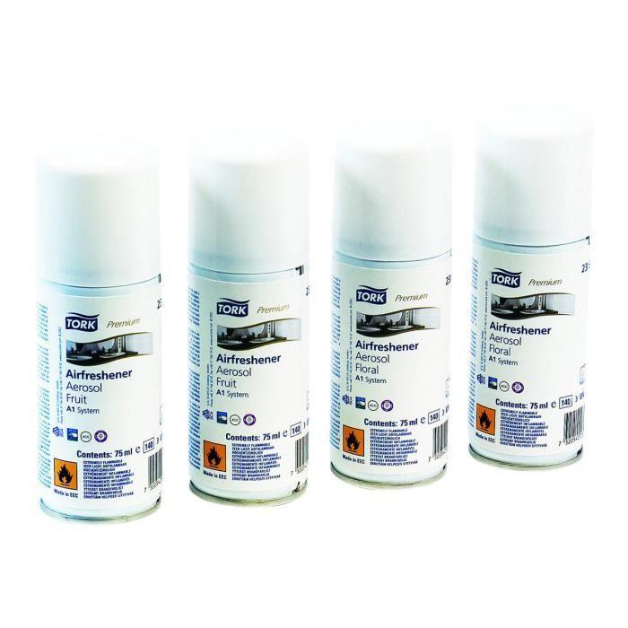 Tork Premium A1 Mixed Pack Recharge pour désodorisant aérosol bombe 75 ml pour P-N: 562000, 972000