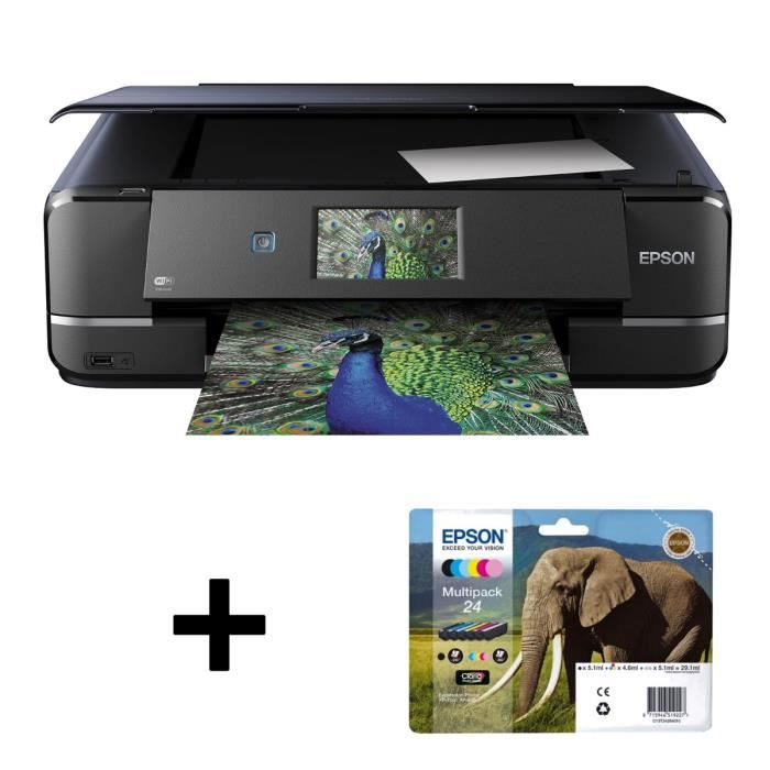 Epson Imprimante Expression Photo XP-960 + Epson Cartouche Multipack 24