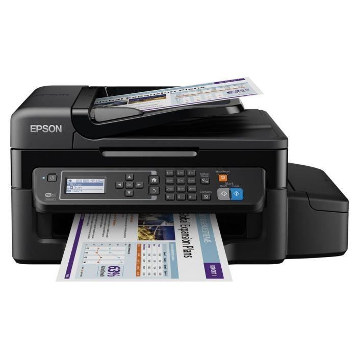 Imprimante Epson Ecotank Et 4500 Couleur (jusqu'à 2 ans d'encre inclus)