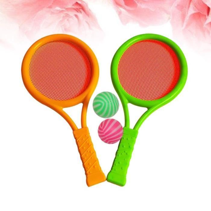 Raquettes de tennis Boules Enfants Sports En plein air Educatif Parents-enfants jeu d'adresse jeux de recre - jeux d'exterieur