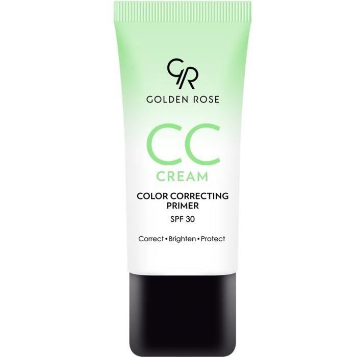 CC Crème Correctrice Anti-rougeur - Vert Universelle