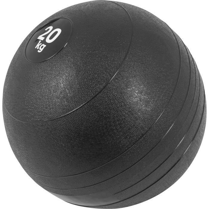 Gorilla Sports - Slam Ball Caoutchouc de 3kg à 20Kg - 20 KG