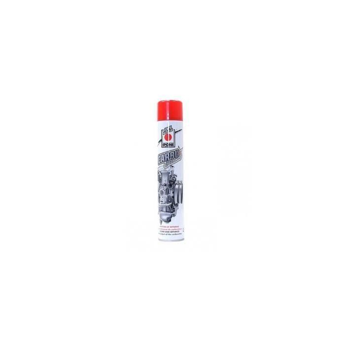 Spray nettoyant carburateur IPONE 750ml Root > Accueil > Entretien > Nettoyants