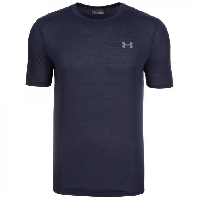 Tee-shirt Under Armour HeatGear Threadborne Fitted - 1289588-410