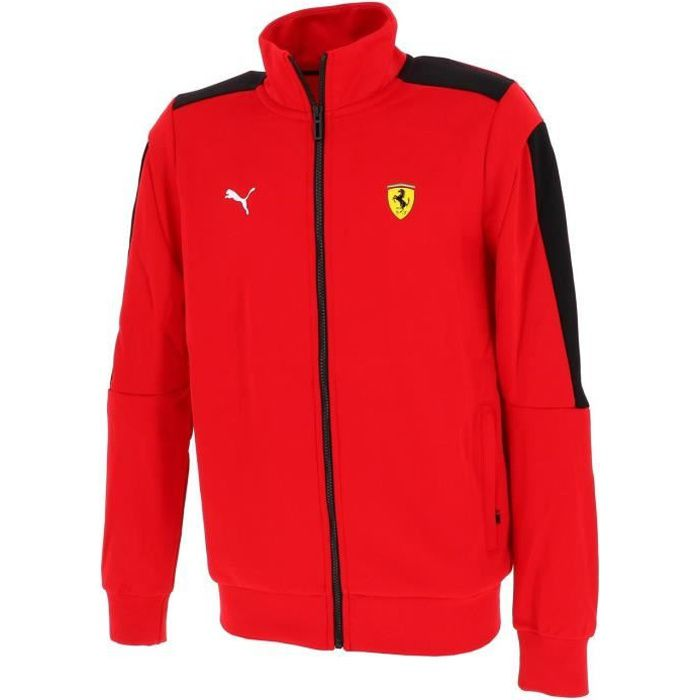 Vestes replica officielle Ferrari race jacket t7 rouge - Puma