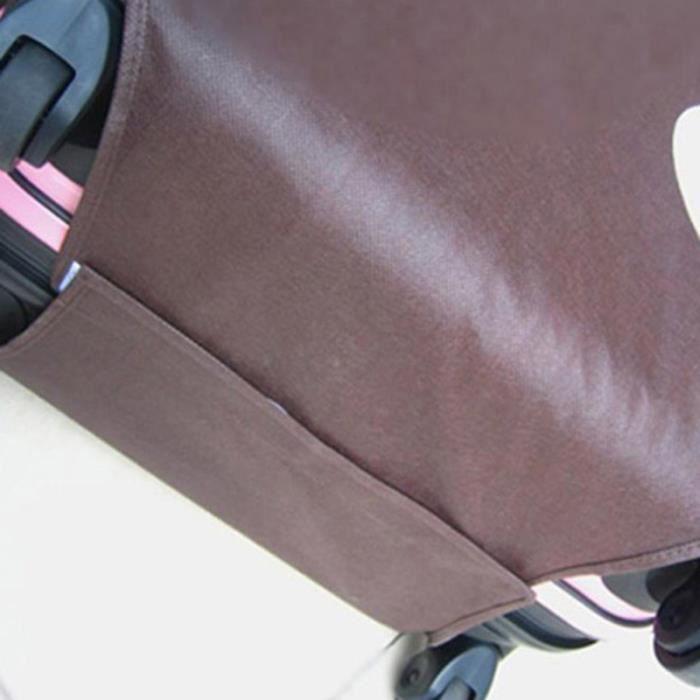 Protecteur de couverture de bagage étanche à la poussière pliable pour valise VELO DE VILLE - BEACH CRUISER - VELO HOLLANDAIS