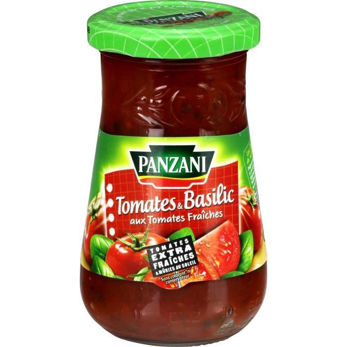 Sauce tomate basilic 210 g Panzani