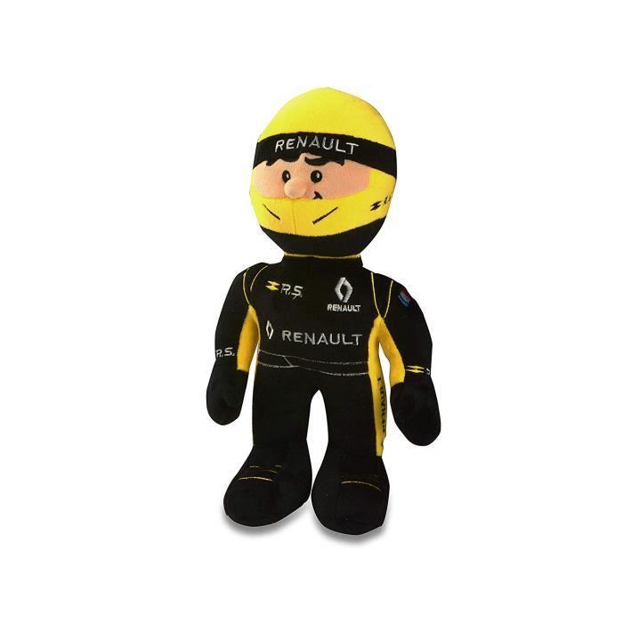 RENAULT SPORT Peluche Eveil Enfant - Pilote Renault Formule 1 - Saison 2019 - 33 cm - Exclu 3282