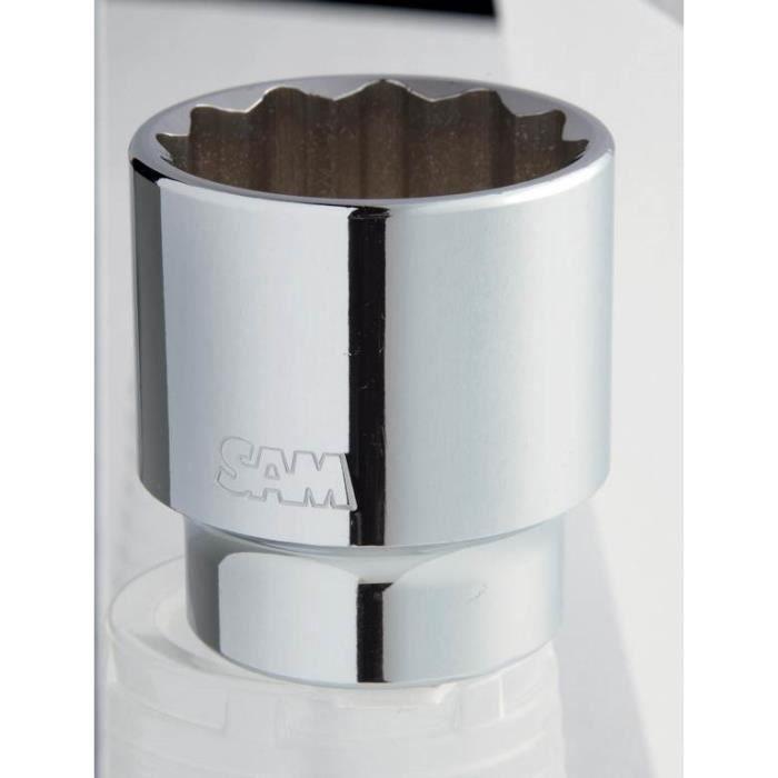 DOUILLE 12 PANS 3/4 DE 35 MM SAM OUTILLAGE - C35