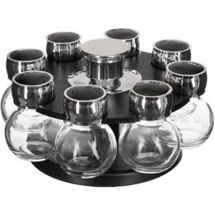SECRET DE GOURMET 8 pots en verre
