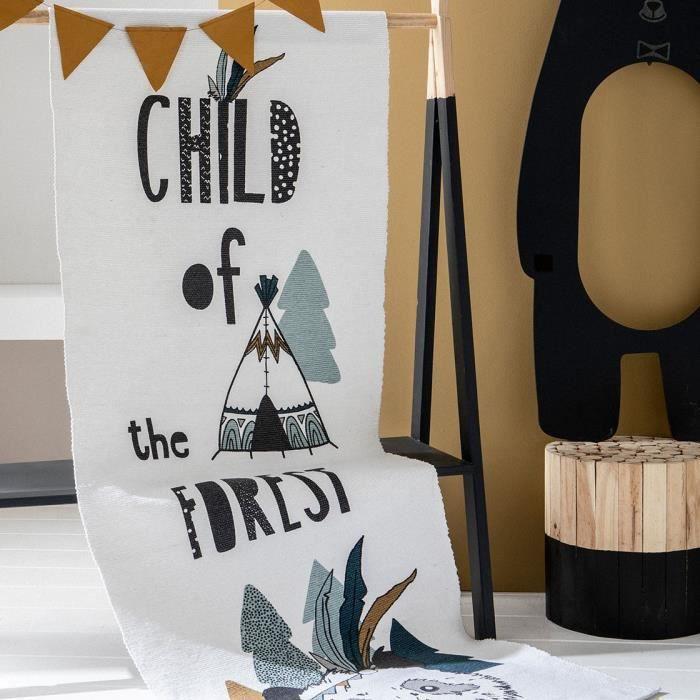 TODAY Tapis enfant Child - 60x170 cm - Blanc