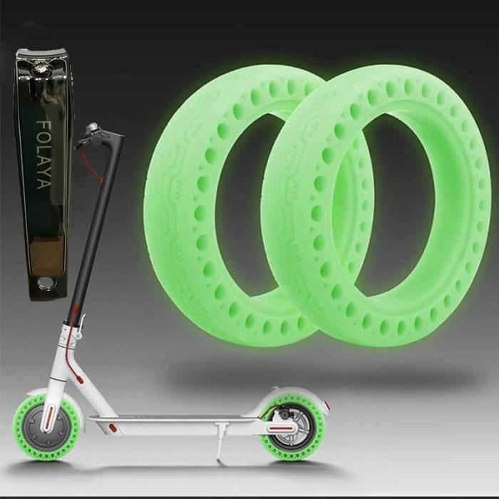 8-1//2x2 pneus pour par exemple Xiaomi mijia m365 E-scooter Solid tire en caoutchouc 8,5 x 2