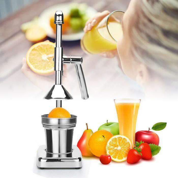 Usage domestique en Acier Inoxydable Chrome Citrus Presse à main fruits frais squeeze Outil DD