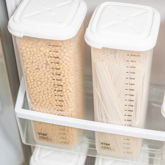 Boites Scellees De Cuisine En Plastique Boite De Rangement Traineau Alimentaire Transparent Gardez Frais Eespace De Rangement Achat Vente Boite De Rangement Cdiscount
