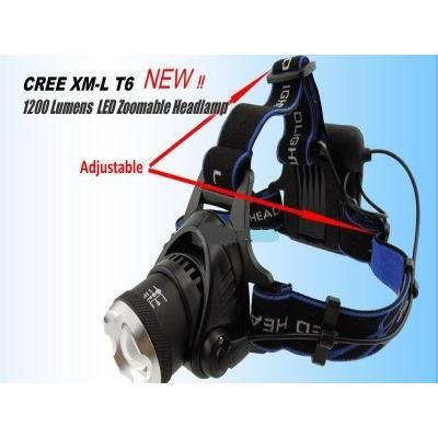 le frontale 1200 lumens zoomable led cree x prix pas cher cdiscount