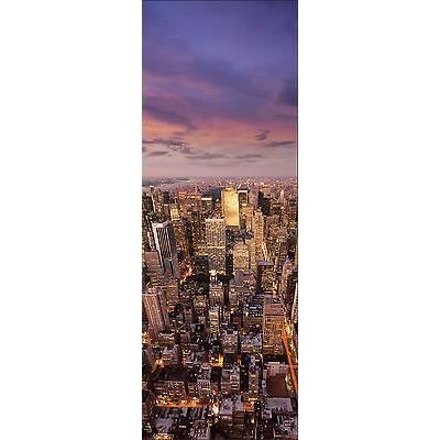 Affiche poster porte d co trompe l oeil new york r f 570 for Decoration porte new york