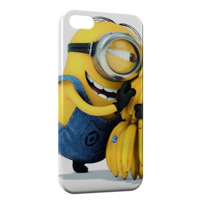 coque iphone 5 5s minion bananes 4