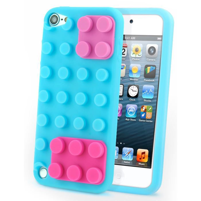 coque ipod touch 5 silicone lego achat vente pas cher. Black Bedroom Furniture Sets. Home Design Ideas