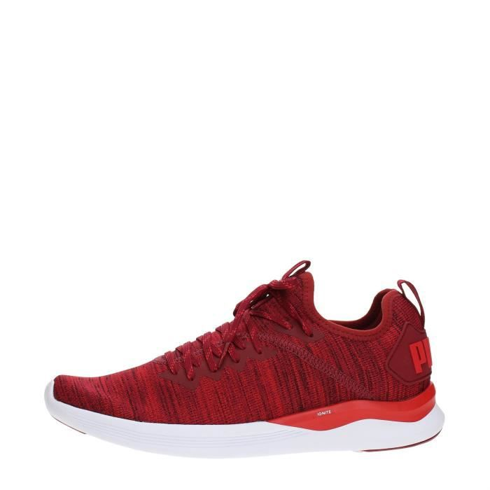 PUMA Sneakers Homme RED/WHITE, 41