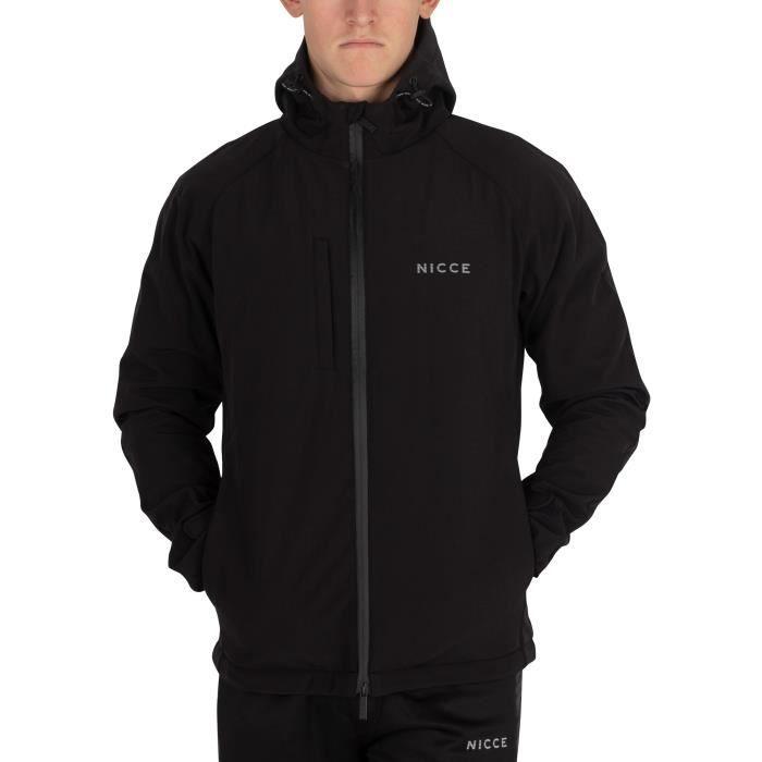 VESTE Nicce London Homme Nio Jacket, Noir