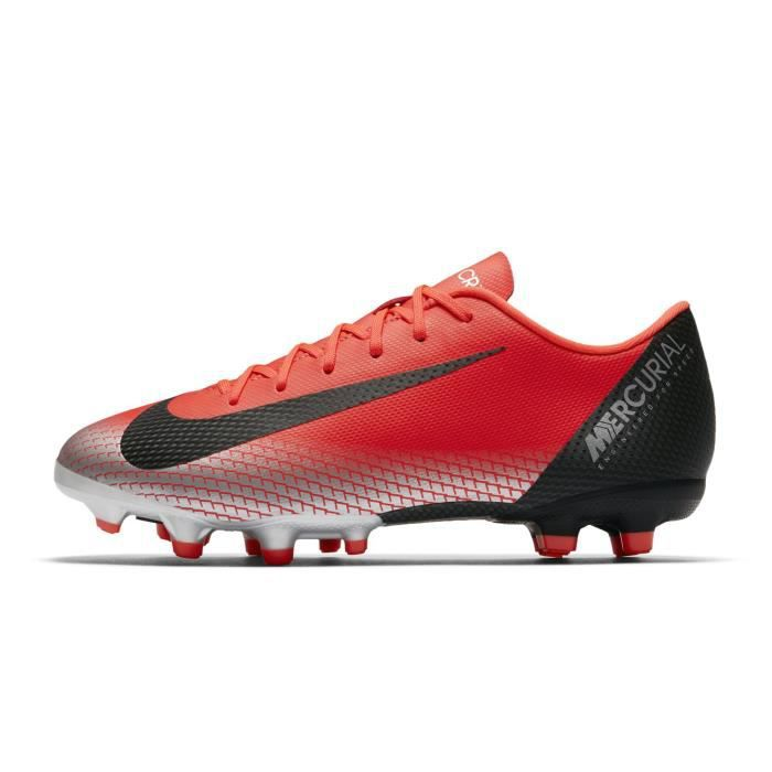 the best attitude edddd 40850 Chaussures football Nike Mercurial Vapor XII Academy CR7 MG Rouge Junior