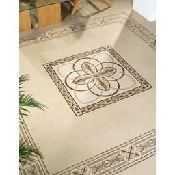 Rosace Decorative 5004 Creme Rectifie 100x100 Cm Achat Vente Carrelage Parement Rosace Decorative 5004 Crem Cdiscount