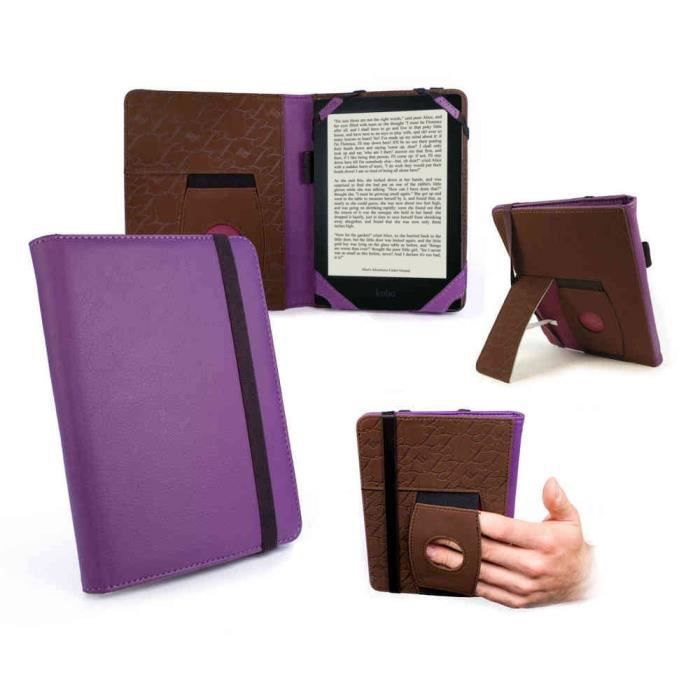 Tui stand pour kobo aura hd violet achat vente for Housse kobo aura