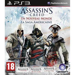JEU PS3 Compilation Assassin's Creed Saga Américaine PS3