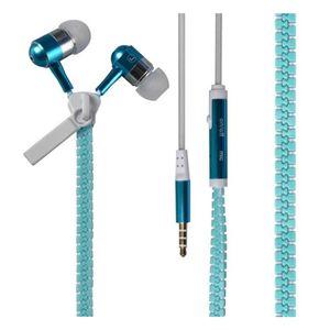 CASQUE - ÉCOUTEURS Écouteur intra-auriculaire 3,5 mm lumineux zipper