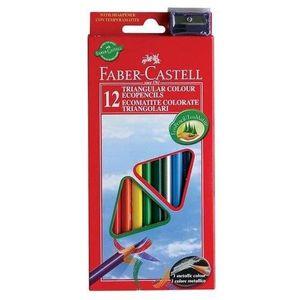 CRAYON DE COULEUR Faber Castell 120523 - Crayons de couleur triangul