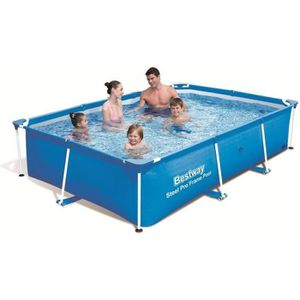 PISCINE BESTWAY Piscine rectangulaire tubulaire L2,59 x l1