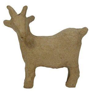 Support à décorer Decopatch chèvre Marron Taille XS