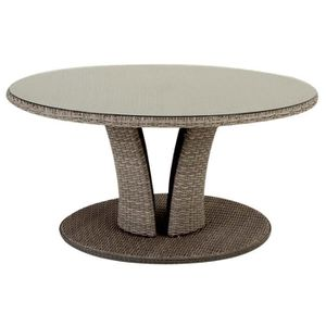 Table ronde resine tressee achat vente table ronde for Table ronde jardin pas cher