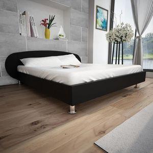 STRUCTURE DE LIT Luxueux Haute qualité Magnifique Economique Lit 18