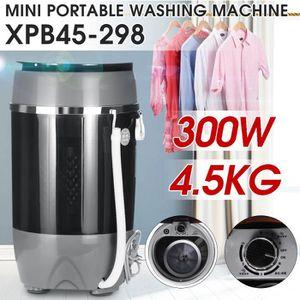 LAVE-LINGE XPB45-298 220V 300W Mini Machine à Laver Semi-auto