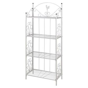 etagere fer forge achat vente etagere fer forge pas cher cdiscount. Black Bedroom Furniture Sets. Home Design Ideas