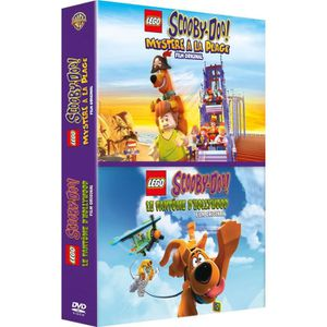 DVD DESSIN ANIMÉ Lego Scooby-Doo : Mystère à la Plage + Le Fantôme