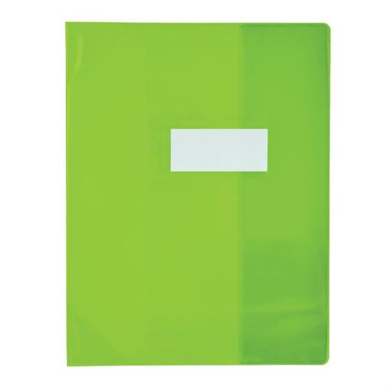 ELBA Prot/ège-cahier PVC 150 Strong Line 17x22 cm Marque-page Translucide incolore