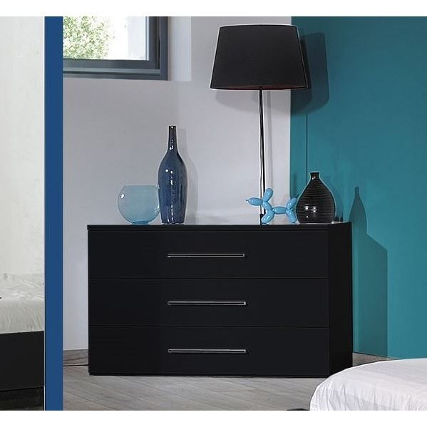 commode noir laque. Black Bedroom Furniture Sets. Home Design Ideas