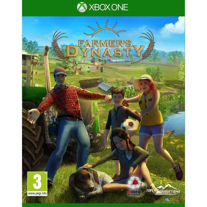 Farmer's Dynasty Jeu Xbox One
