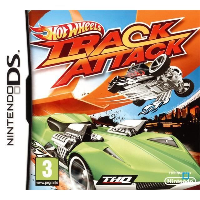 hot wheels track attack jeu ds achat vente jeu ds dsi hot wheels track attack ds. Black Bedroom Furniture Sets. Home Design Ideas