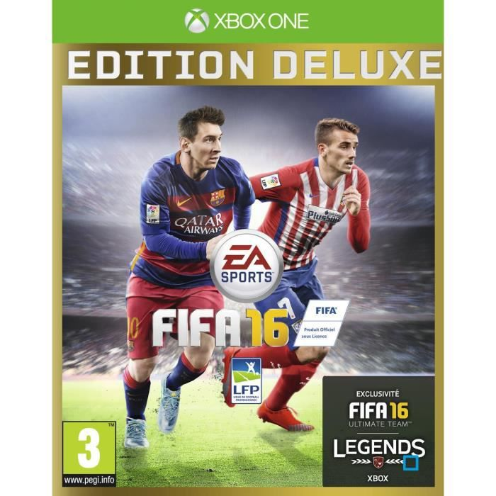 fifa 16 edition deluxe jeu xbox one avis test cdiscount. Black Bedroom Furniture Sets. Home Design Ideas