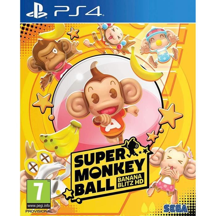 Super Monkey Ball HD Banana Blitz Jeu PS4