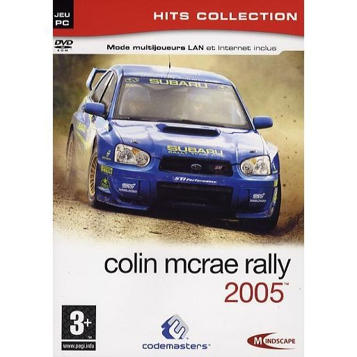 colin mcrae rally 2005 jeu pc dvd rom achat vente jeu pc colin mcrae rally 2005 pc dvd. Black Bedroom Furniture Sets. Home Design Ideas