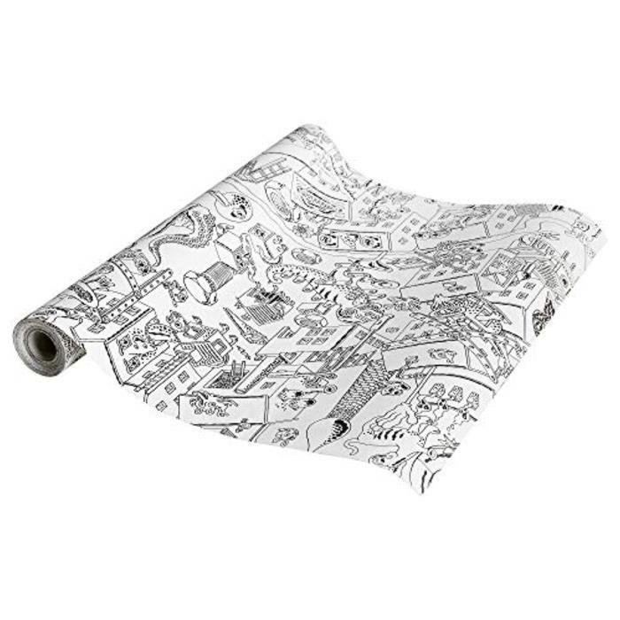 Jeu De Coloriage QBS3B IKEA Lustigt coloriage rouleau