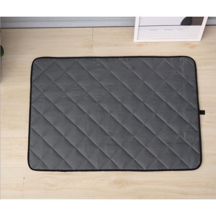Tapis Éducateurs Chien Lavable Grande alèse Tapis de propreté siège voiture Imperméable Chiot Chien alaise tapis refraissant Lit
