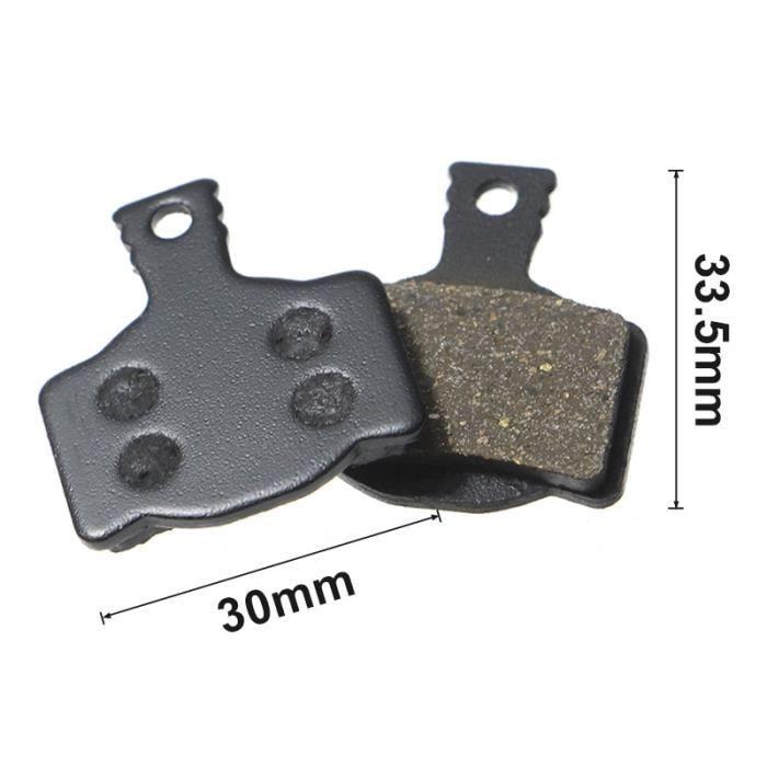 Pièce Détachée,1 paire-2 pièces vtt VTT plaquettes de frein pour Shimano M445 355 395 pièces de vélo cyclisme résine - Type SKU4