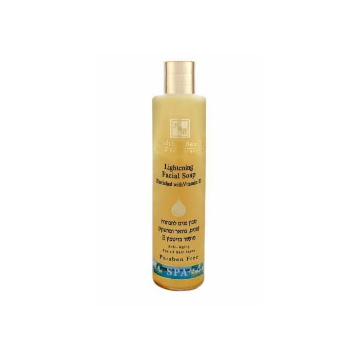 Mer Morte cosmétique - Health and Beauty Dead Sea Minerals - Savon éclaircissant visage - 250 ml